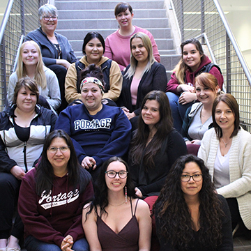 1st Year Community Social Work students & instructors